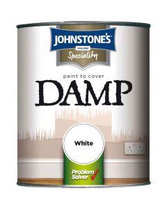 Johnstones Damp Proof Paint White 750ml