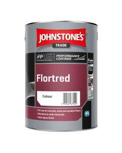 Johnstones Florted Floor Paint Black 5L