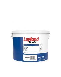 Leyland Trade Vinyl Matt Emulsion Paint Magnolia 10L