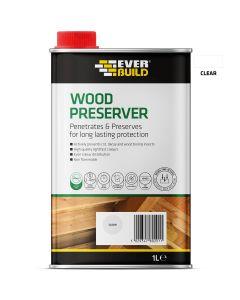 Everbuild Lumberjack Wood Preserver Clear 1L
