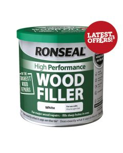 RONSEAL Filler - 2 Part Epoxy Wood High Performance 550g White