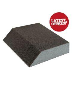 Sanding Block Sponge Single Angle 100G