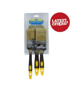 Seagull Superior Multi Purpose Brush Set 3Pcs 1 1/2,2,3in