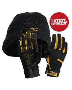 CLC Work Gloves And Beanie Hat