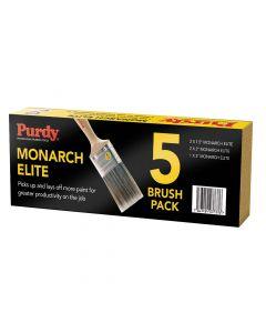 Purdy Monarch Elite Brush Set of 5