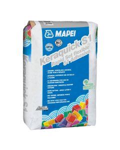 Mapei Tile Adhesive KERAQUICK Rapid Set S1 20kg White
