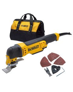240v Dewalt Multi Cutter With Bag and Accessories
