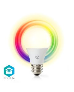 Nedis LED Bulb WiFi Smart GLS E27 6w Colour