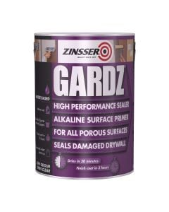 Zinsser Gardz 5Ltr - W/based Sealer For Porous & Problem Surfaces
