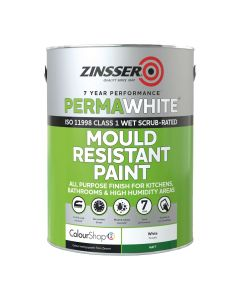 Zinsser Perma White Interior 1Ltr - Mould & Mildew Proof Paint White Matt